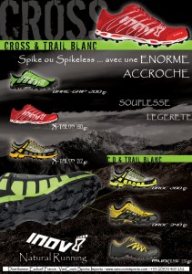 INOV8 FLYER CROSS-TRAIL BLANC 2011 LR